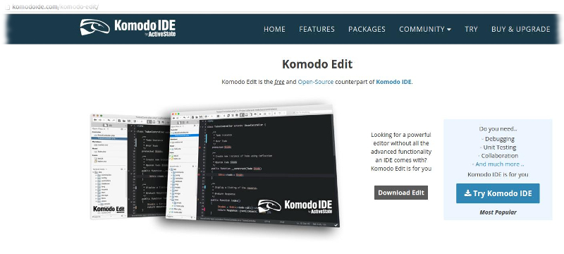 Installing Komodo Edit